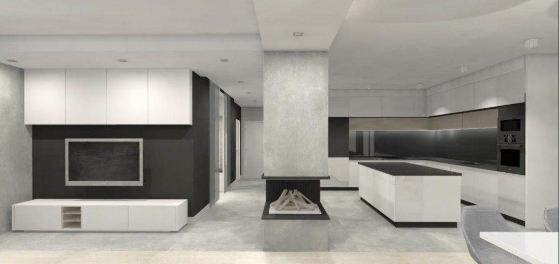 dzierżoniów projektowanie wnętrz-minimalizm