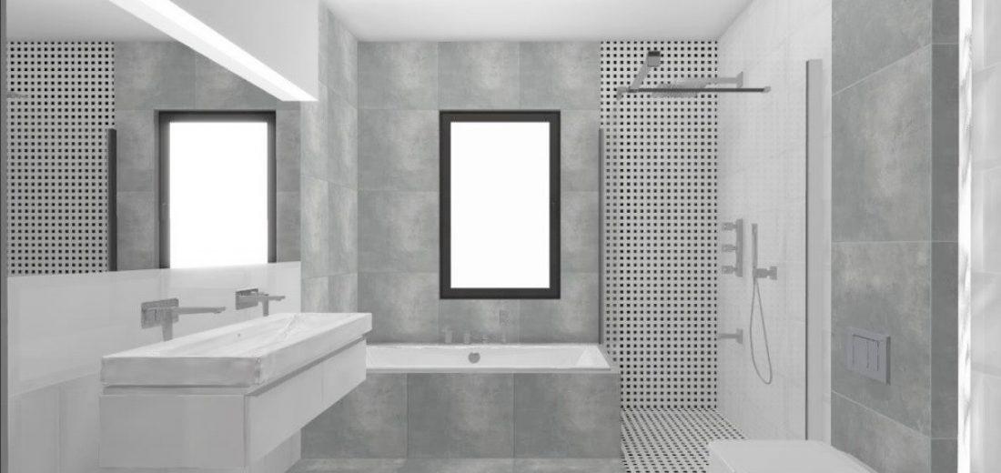 łagiewniki projektowanie wnętrz -minimalizm